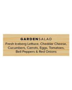 Salad Labels - Garden - GSW