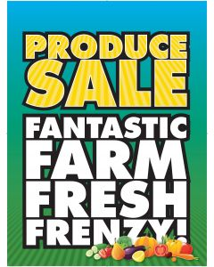 Poster - Produce Frenzy