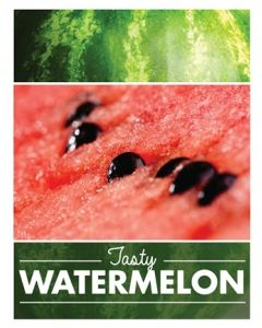 Poster Produce - Watermelon