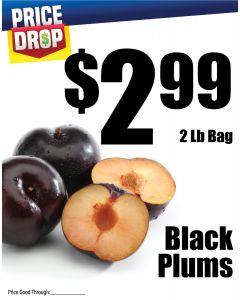 Monthly Price Drop - Black Plums