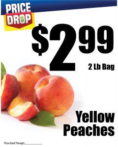 Monthly Price Drop - Yellow Peaches
