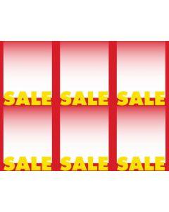 2-Color Sale - 6-UP - MINIMUM 50 PACKS