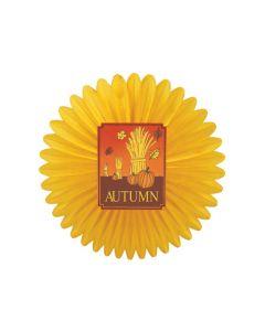 27'' Deluxe Autumn Wheat Fan - AUT-0650