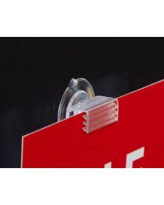 Shelf Clip Suction Cup Flush - 130616