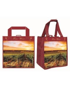 Tote Bags - 6 Bottle Wine Tote - 14450-01212