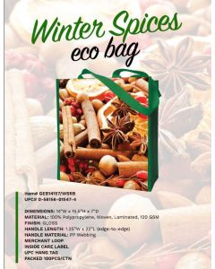 Tote Bags - Winter Spices - GEB14157/WSRB