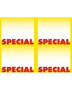 2-Color Special - 4-UP - MINIMUM 50 PACKS