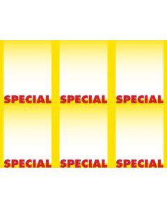 2-Color Special - 6-UP - MINIMUM 50 PACKS