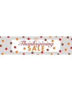 Thanksgiving Sale Banner