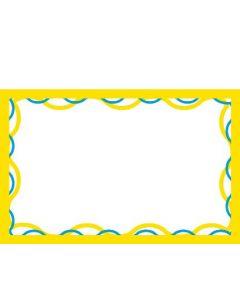 2-Color Wave - 1-UP - MINIMUM 50 PACKS