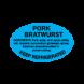 ADV LABEL - Pork Bratwurst SL594PB