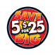 5 For $25 2 7/8'' Label - SAVE BIG
