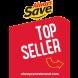 Always Save Top Seller Shelf Tag